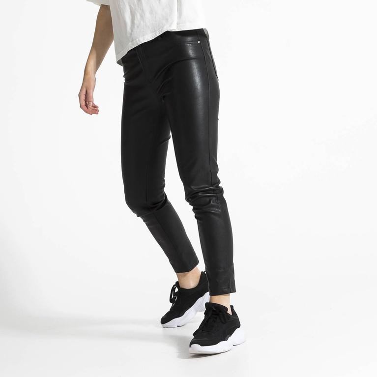 "Faux leather pants ""Sasha"""