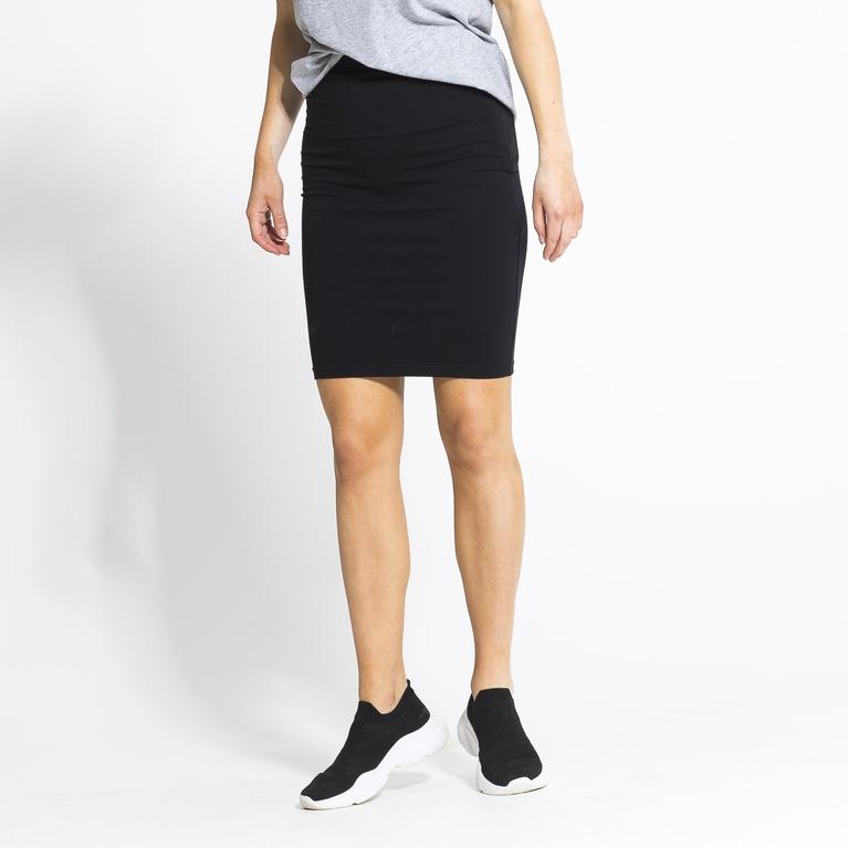 svart tight kjol