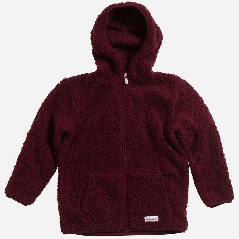 Teddy zip star / K Hood sweater Hood sweater