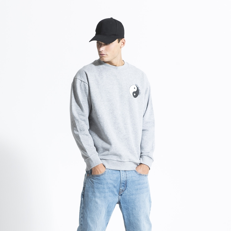 "Collegepusero ""Printed Heavy Sweater"""
