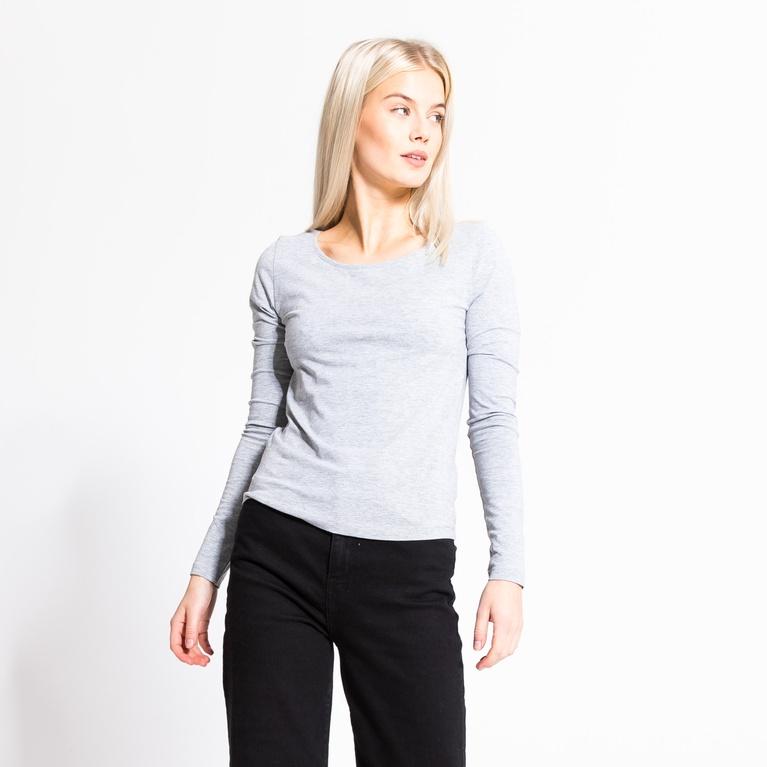 Fredrika/ W basic long sleeve Sweater