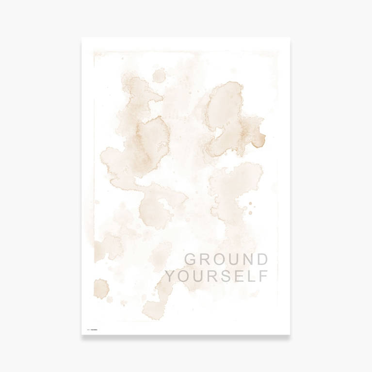 "Poster 70x100 ""Touch Ground"""