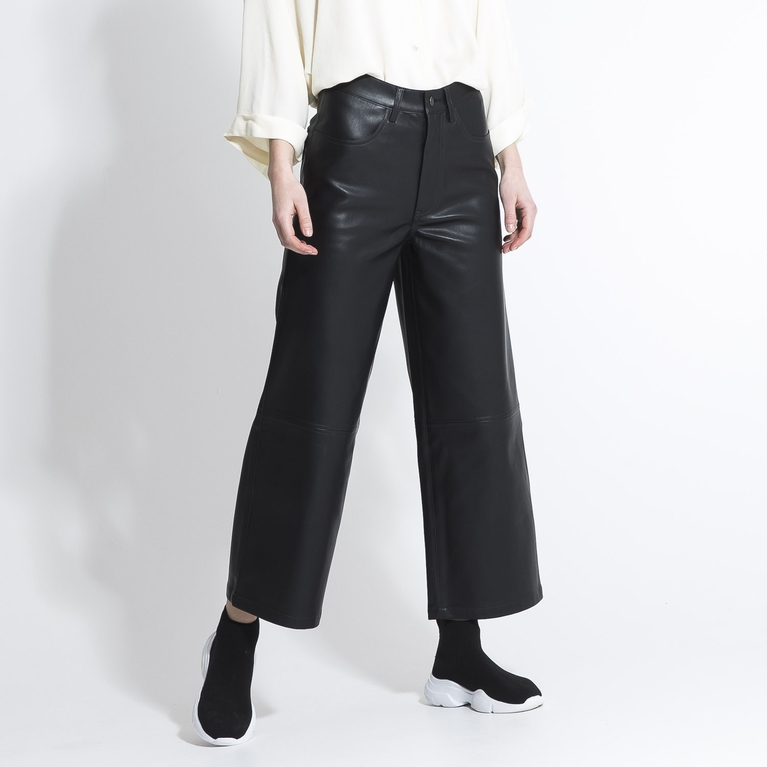 "Faux leather pants ""Kit"""