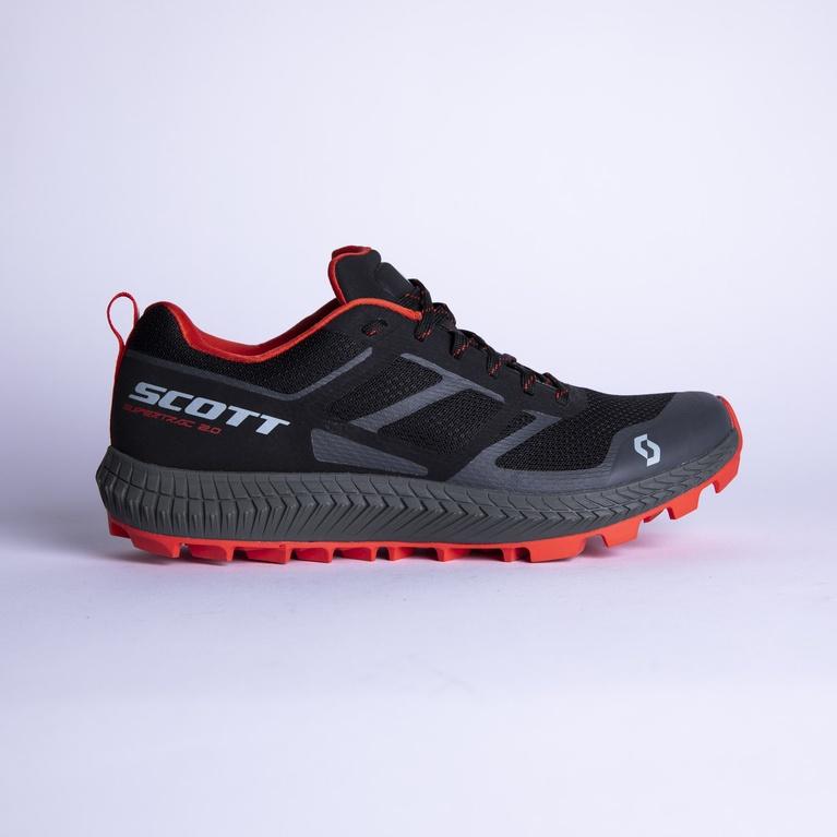 SCO Shoe Supertrac 2.0 black/red/8.0 US