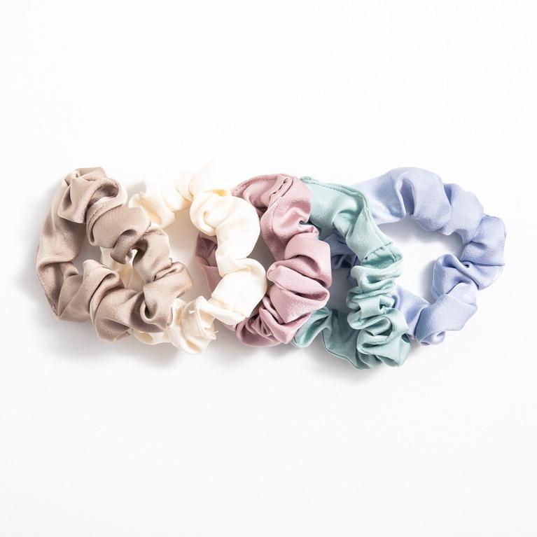 Scrunchies 5-p/ A Hair Hair/Skin