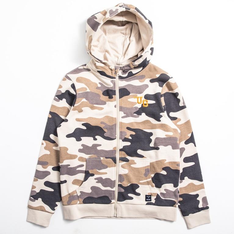 "Zip sweater ""Archer Camo"""