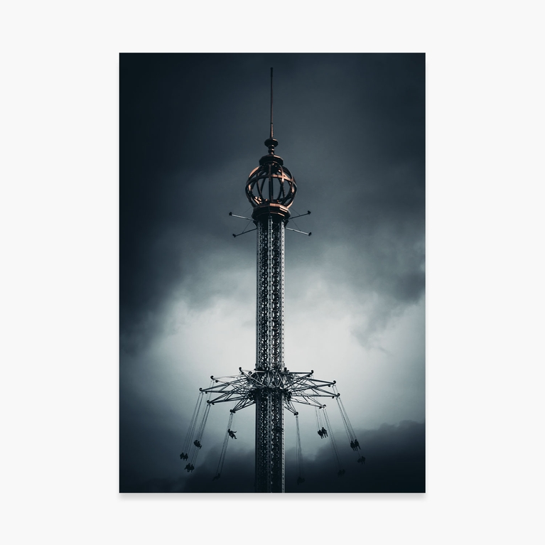 """Poster 70x100 """"Moody ride"""""""