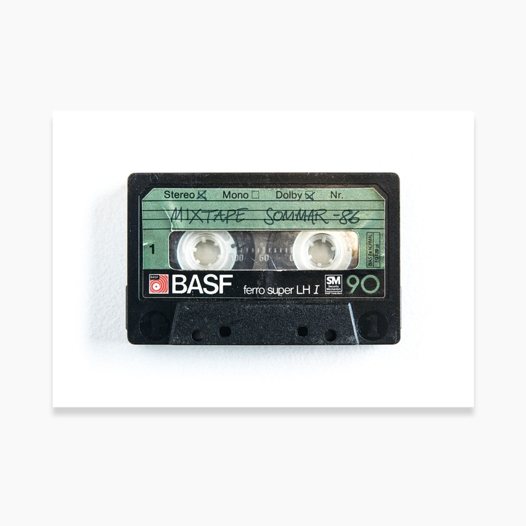"""Poster 100x70 """"Mix tape"""""""
