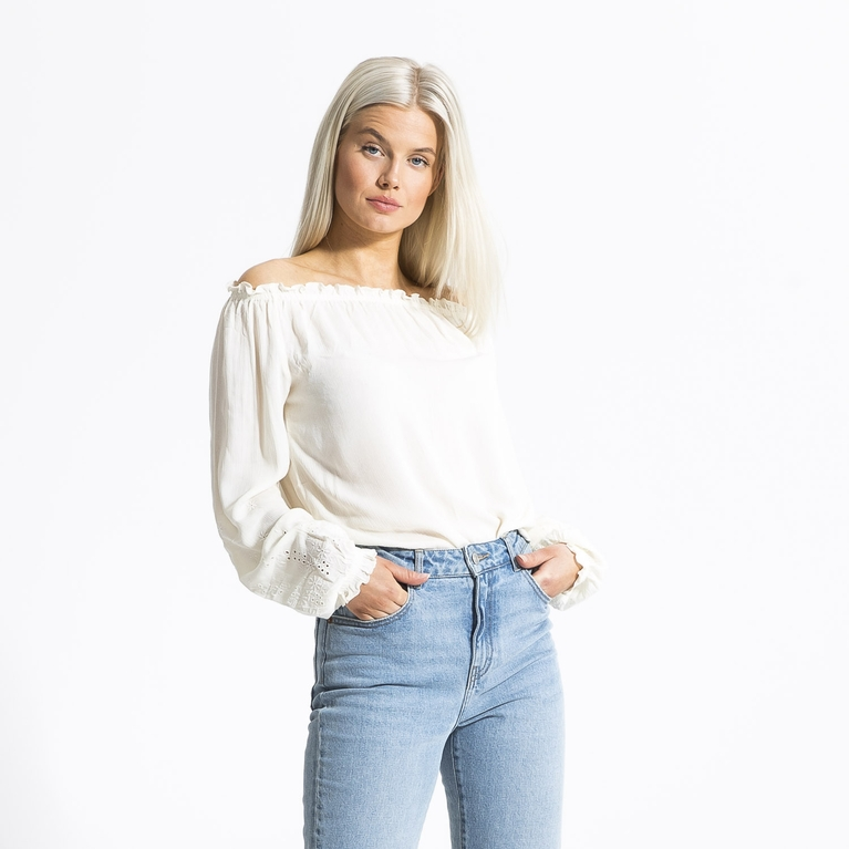 "Offshoulder blouse ""Summer"""