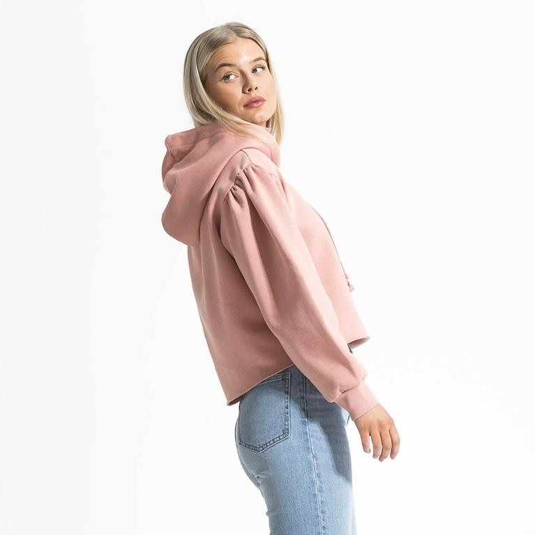 """Peach hoodie """"Puff"""""""
