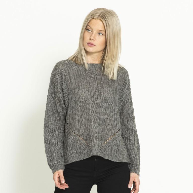 "Knitted sweater ""Minna"""