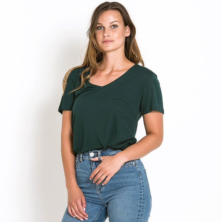 "Top V-neck ""Inga"""