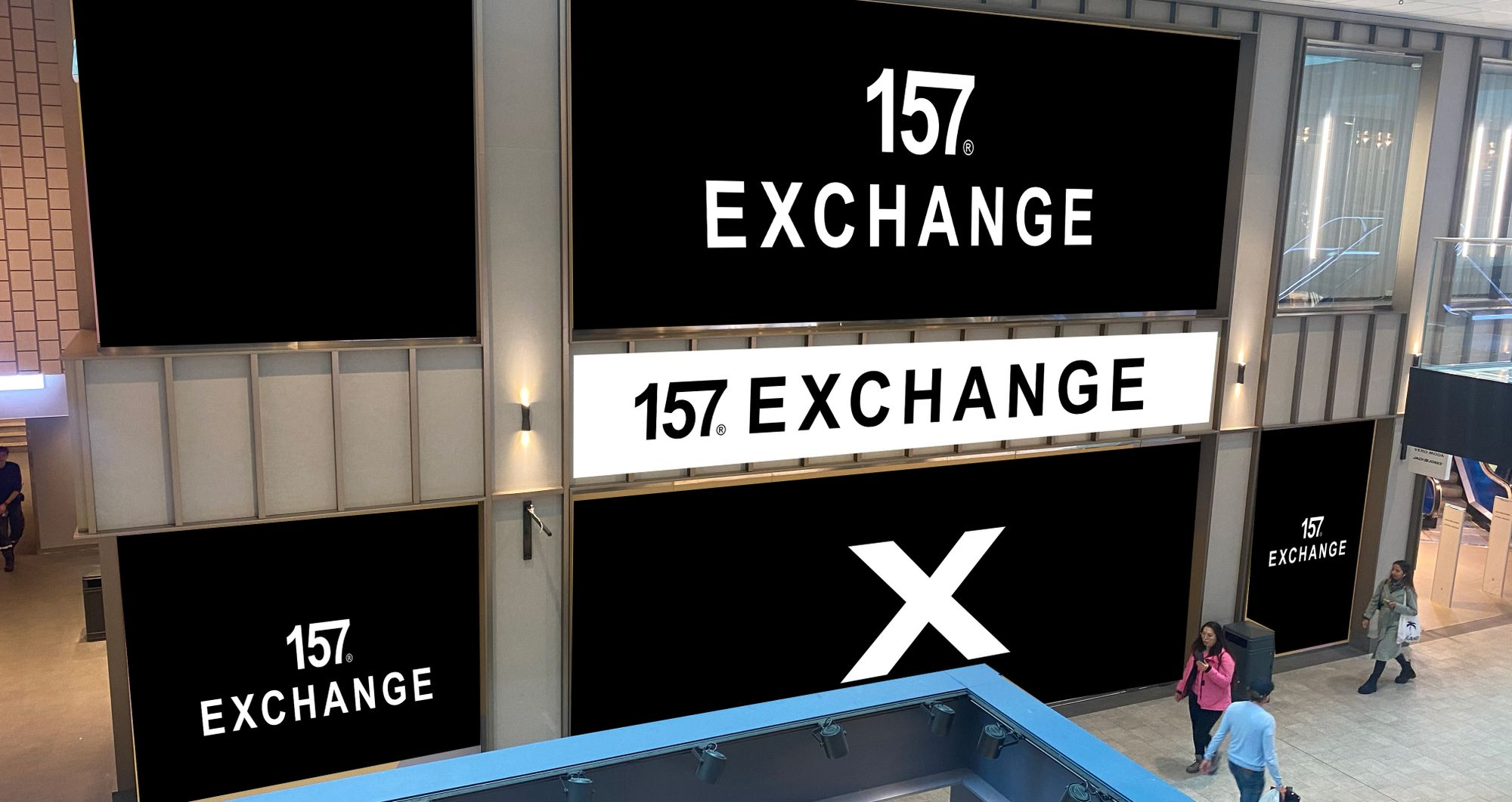 157 Exchange Nytt butikskoncept