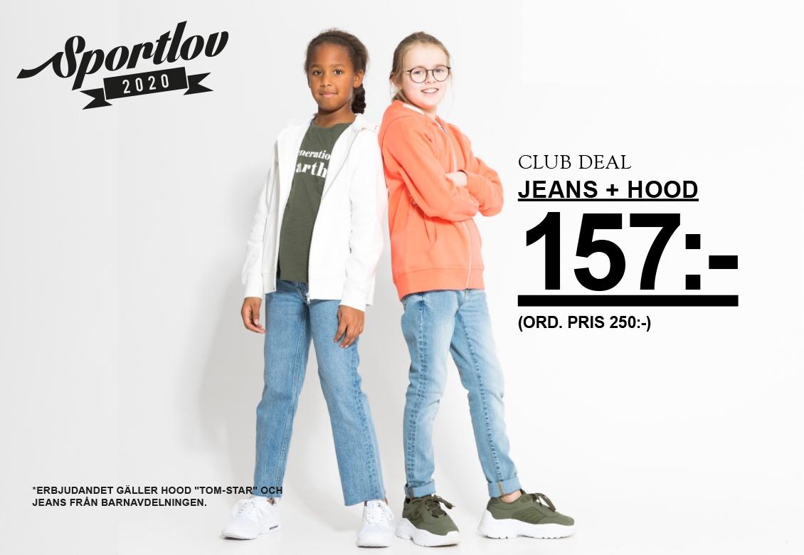 Cargo pants och hoodie till barn