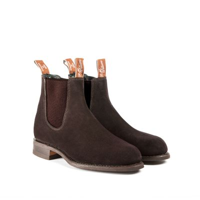 WENTWORTH G-LAST SUEDE CHOCOLATE