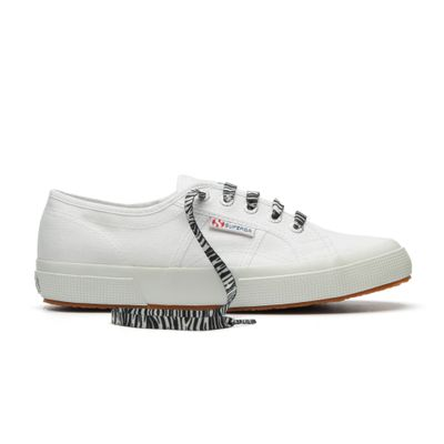 FANTASY POLY LACES ZEBRA BLACK BEIGE