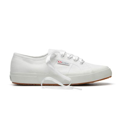 SATIN WIDE LACES WHITE