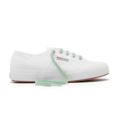 COLOR LACES MINT