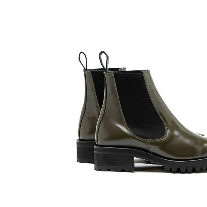 Bo Patent Leather Green