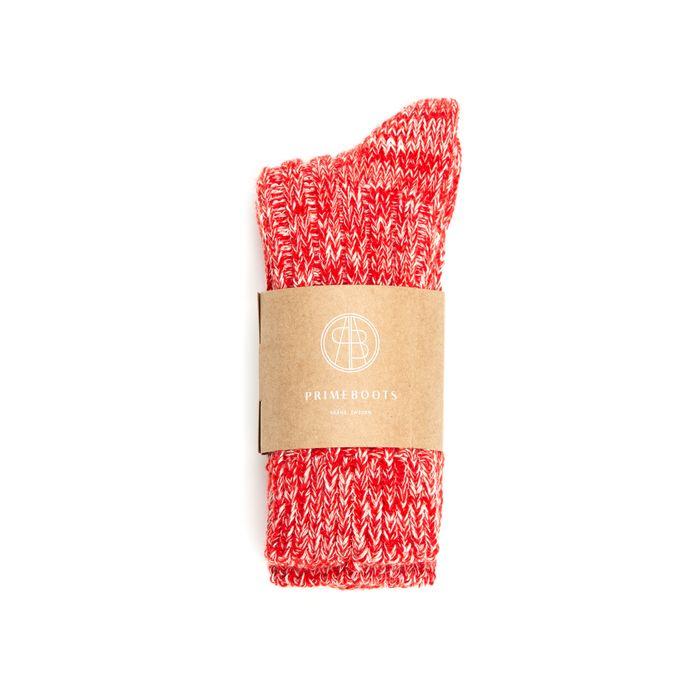 Eilidh Organic Cotton-Wool Traffic Red