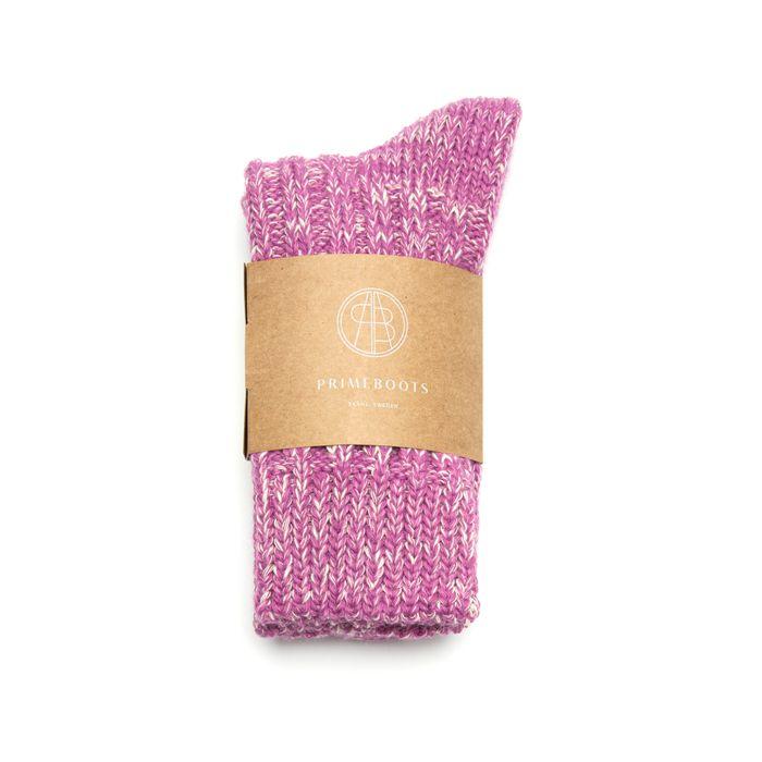 Eilidh Pure Wool-Organic Cotton Lilac