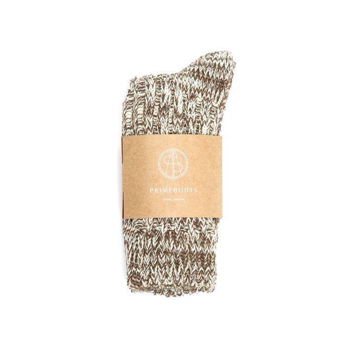 Eilidh Pure Wool-Organic Cotton Natural Cognac