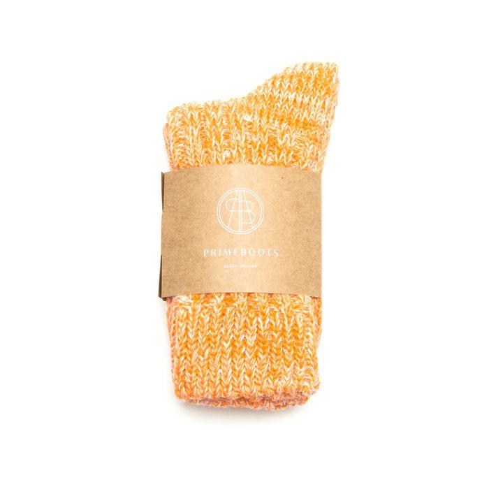Eilidh Pure Wool-Organic Cotton Orange