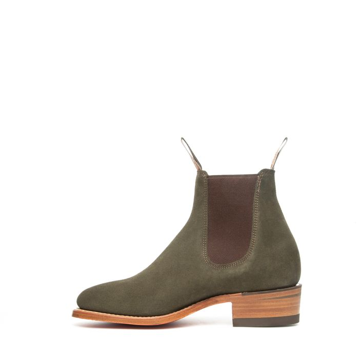 THE YEARLING G-LAST SUEDE KHAKI