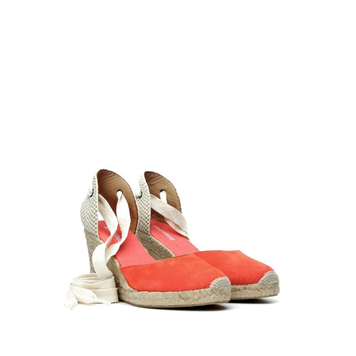 TALL WEDGE 9 CM FIRE RED