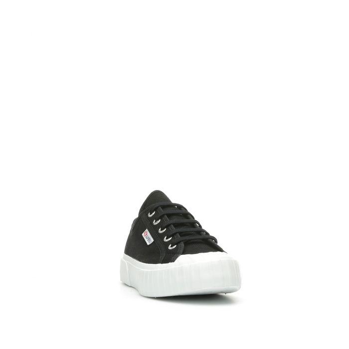 2630 COTU STRIPE BLACK-FULL WHITE