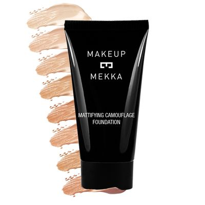 Mattifying Camouflage Foundation