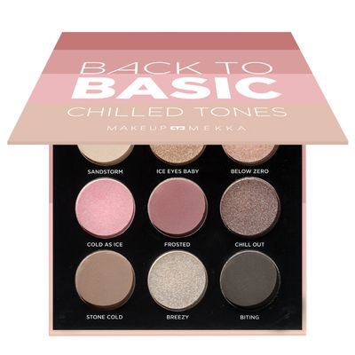 Back to Basic Eyeshadow Palette Chilled Tones