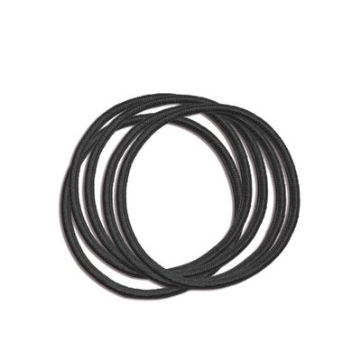 Hair Ties 5 pk - Black