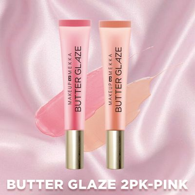Butter Glaze Lip Gloss 2pk - Pink