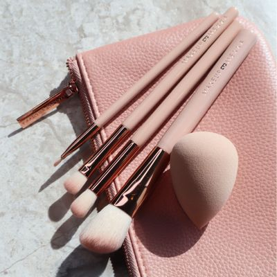 Nudelicious Makeup Bag & Tools Set