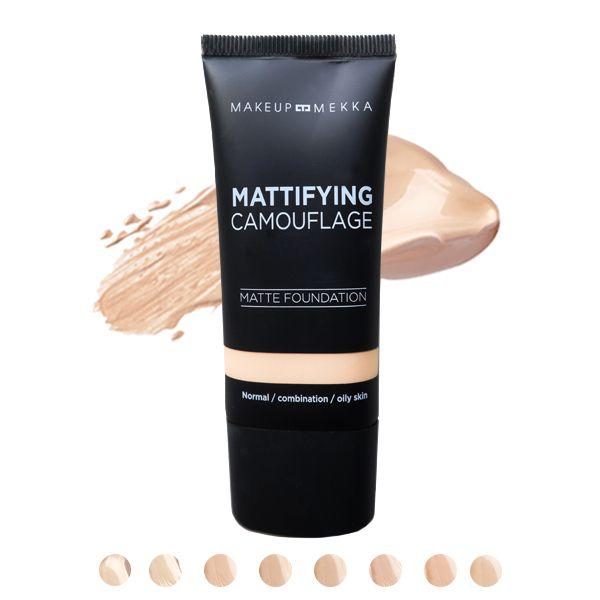 Mattifying Camouflage Foundation