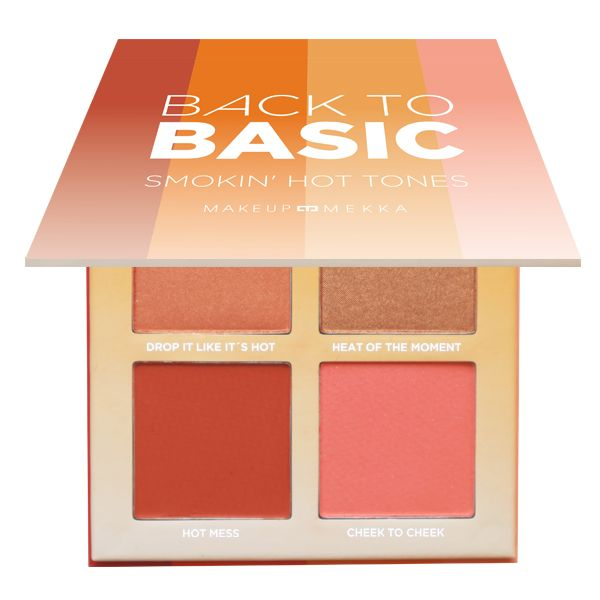 Back to basic blush palette - Smokin' Hot Tones