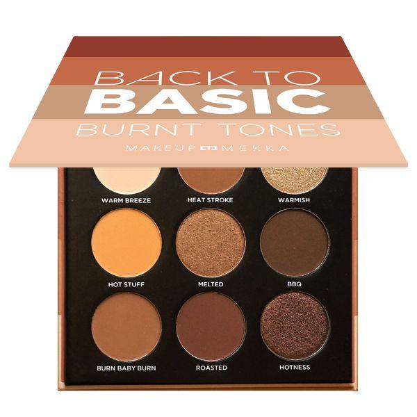 Back to Basic Eyeshadow Palette Burnt Tones