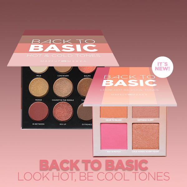 Back to Basic Kit Look Hot, be Cool Tones