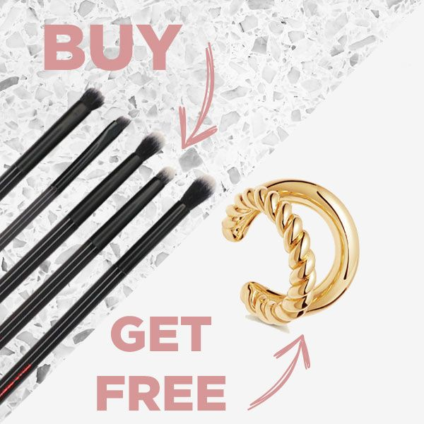Helle Ear Cuff & Brush Set