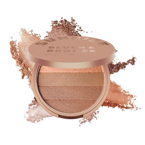 Sunrise - Blush & Bronze