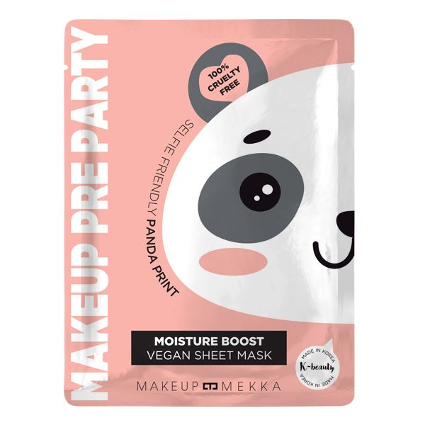 Makeup Pre Party - Moisture Boost Vegan Sheet Mask