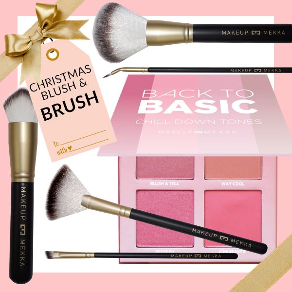 Christmas Blush & Brush