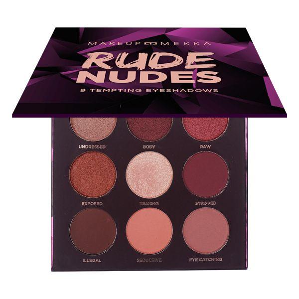 Rude Nudes Eyeshadow palette