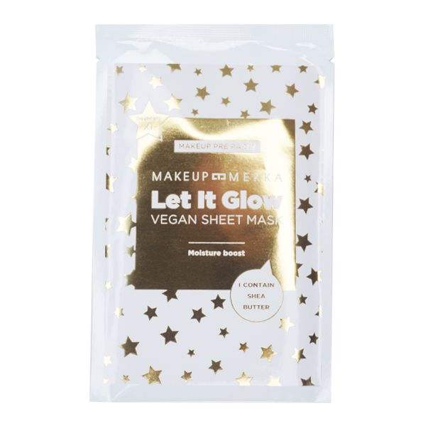 Makeup Pre Party - Let it Glow Vegan Sheet Mask