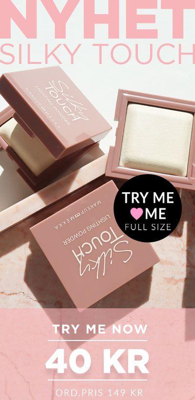 Try me! Nyhet slikly touch powder endast 40kr