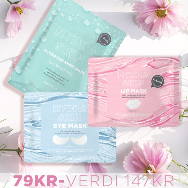 Skin Care infused sheet mask for face lips and under eyes