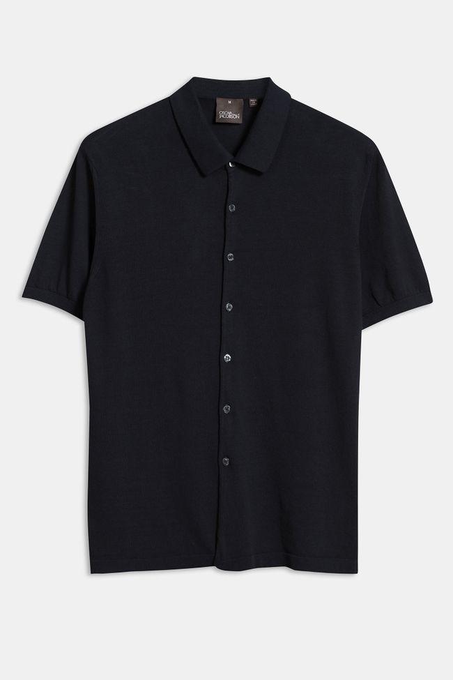 Celvin knitted short sleeve shirt