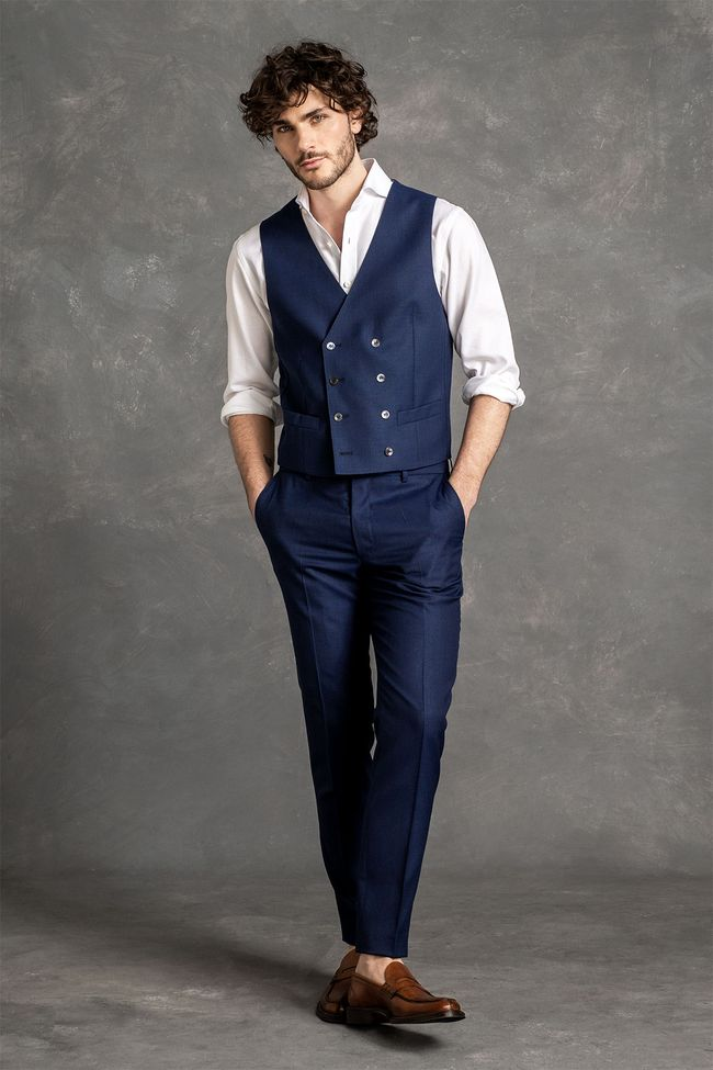 Covent double breasted waistcoat