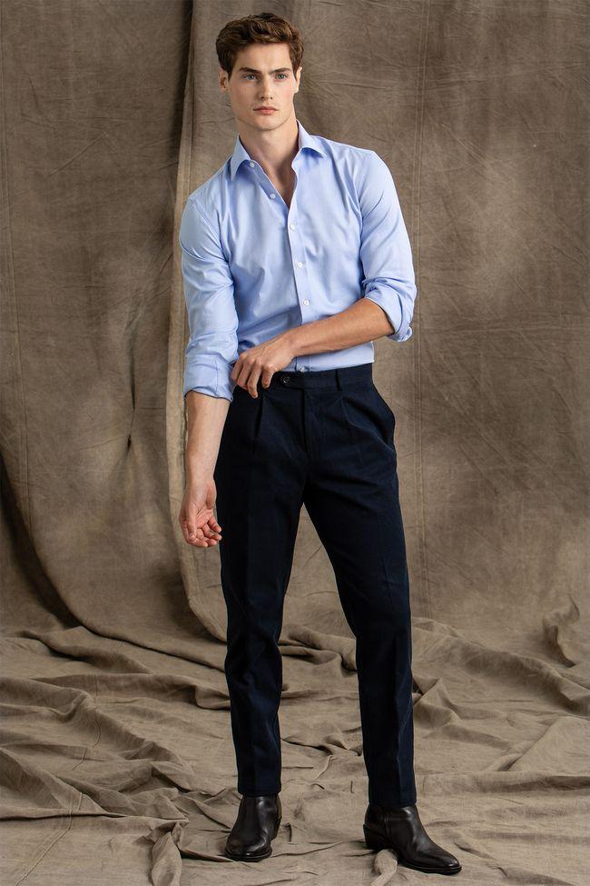 Delon cotton trousers